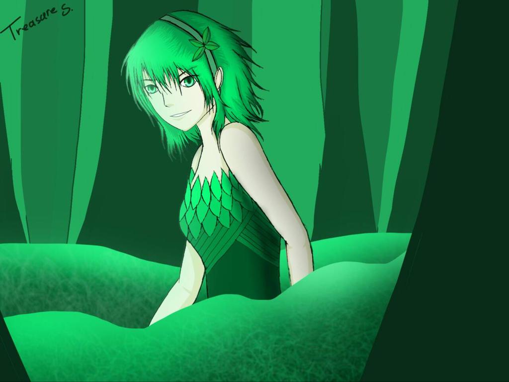 Green- Leafy! {bfdi/bfb} by LittleMissTreasure