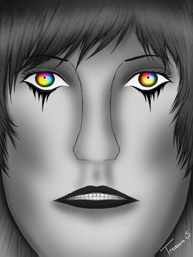 Eyes of Rainbows by LittleMissTreasure