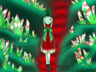 Watermelon cave by LittleMissTreasure