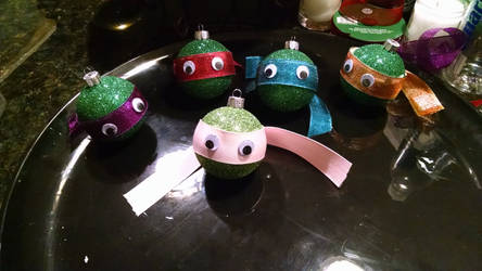TMNT Ornaments by MKn1