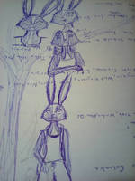 Zootopia OC sketch )