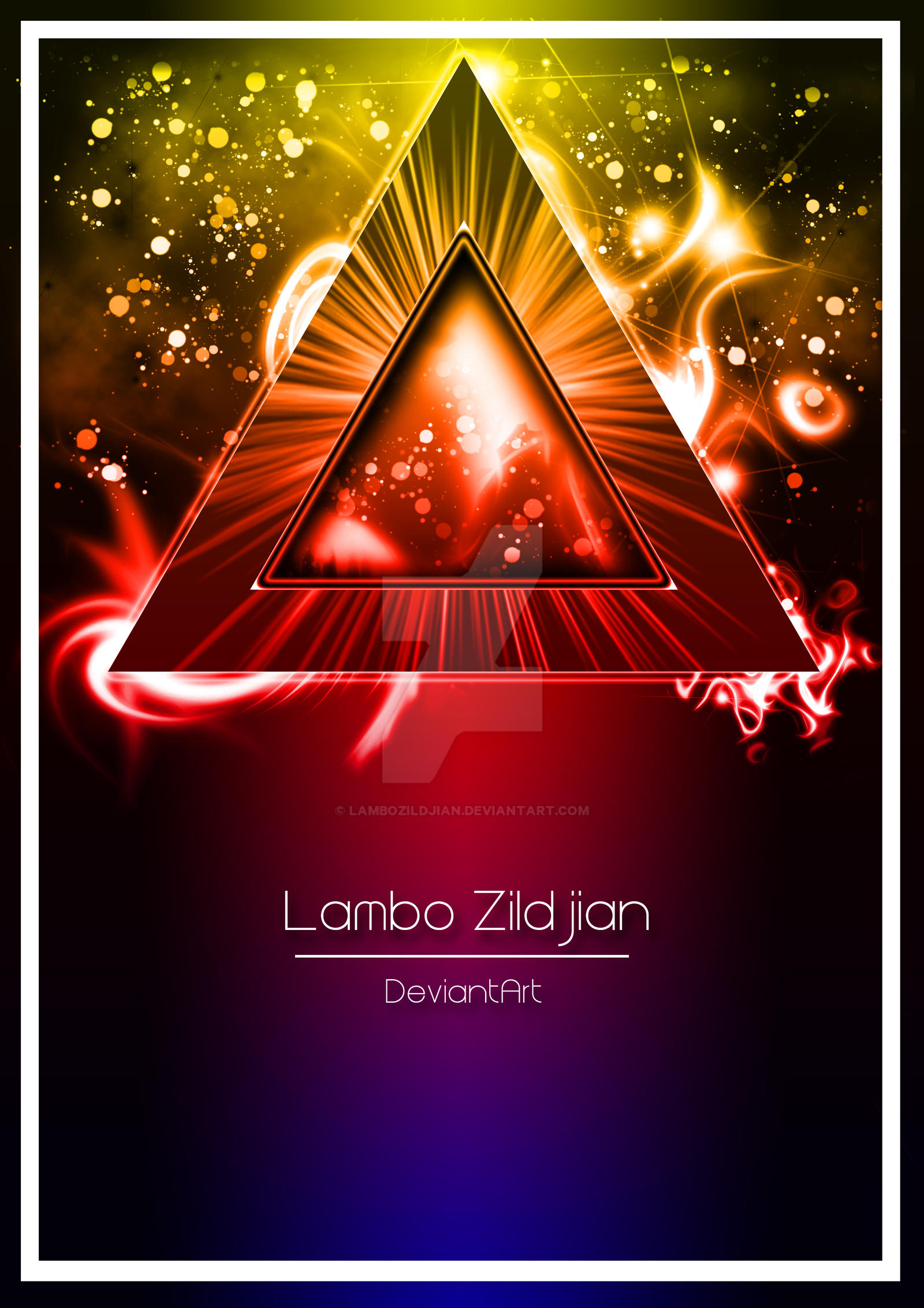 The Vibrant Triangle by LamboZildjian