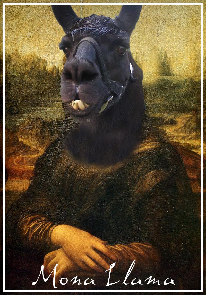 The Mona Llama by LamboZildjian