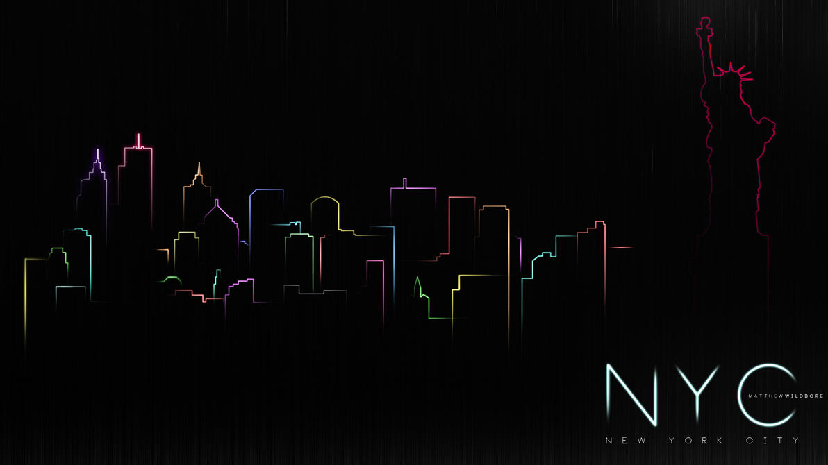 New York In Neon by LamboZildjian