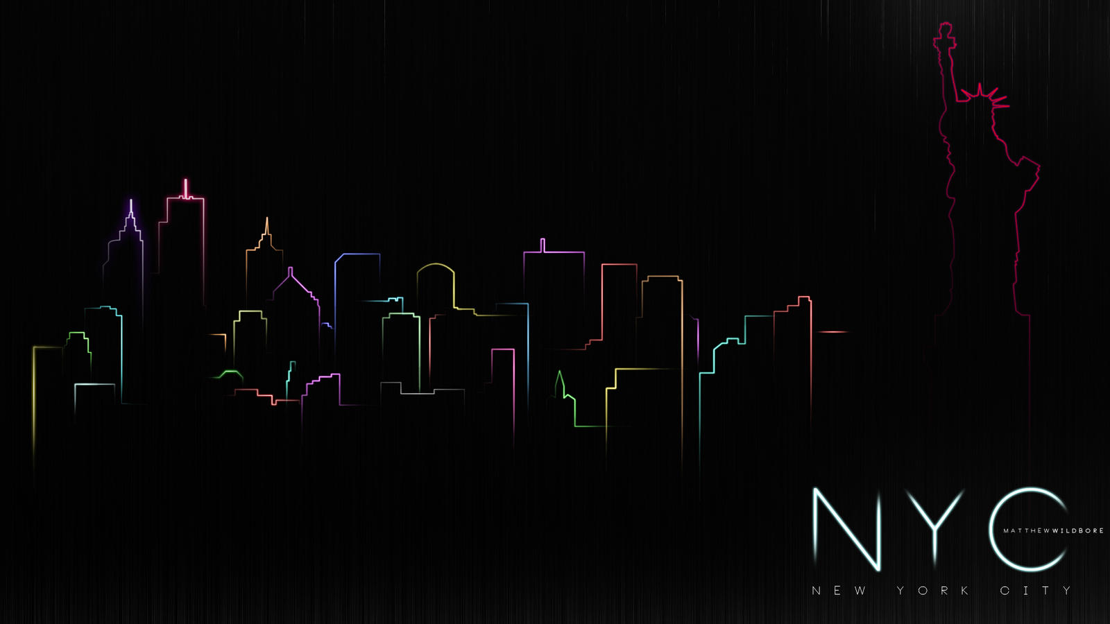 New York In Neon by LamboZildjian