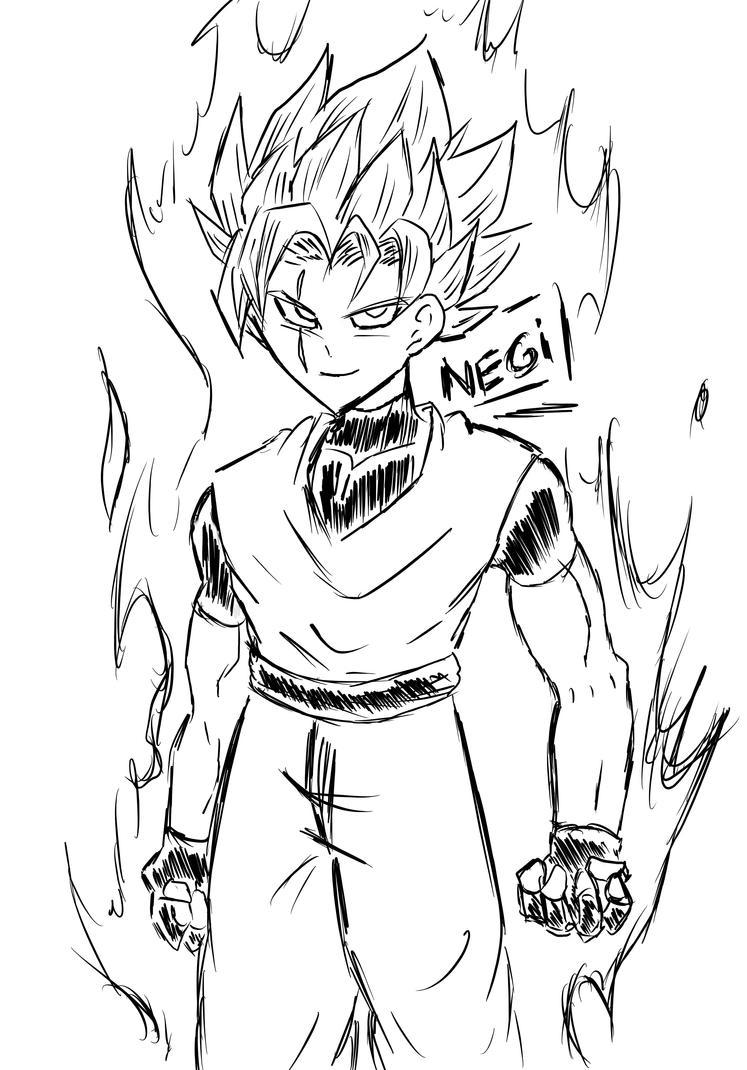 Dragon Ball Sketch by DarkRageTM