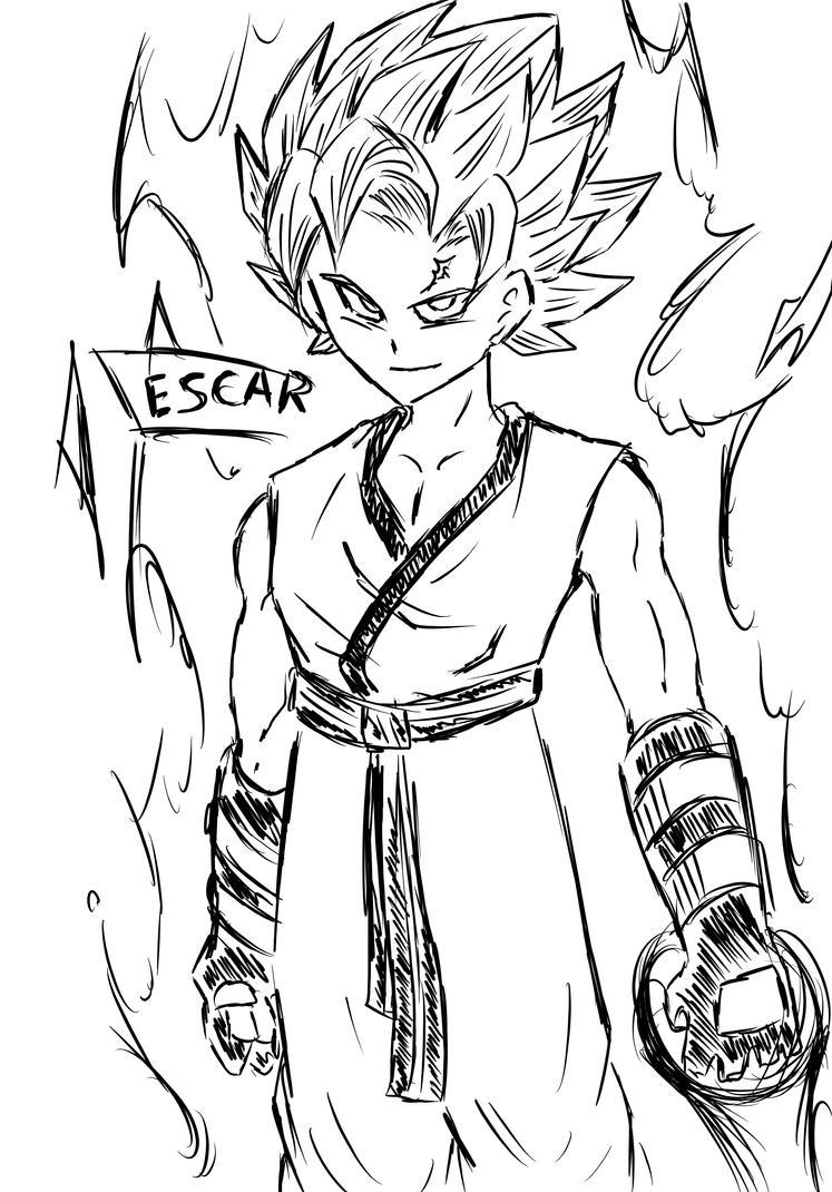 More Dragon Ball Sketch by DarkRageTM