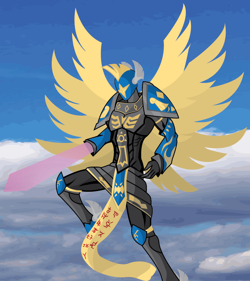 Seraphimon Wallpaper .:Seraphimon:. by Skor...