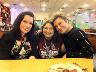 Monica Rial and Vic Mignogna with me! by mimori-kiryu