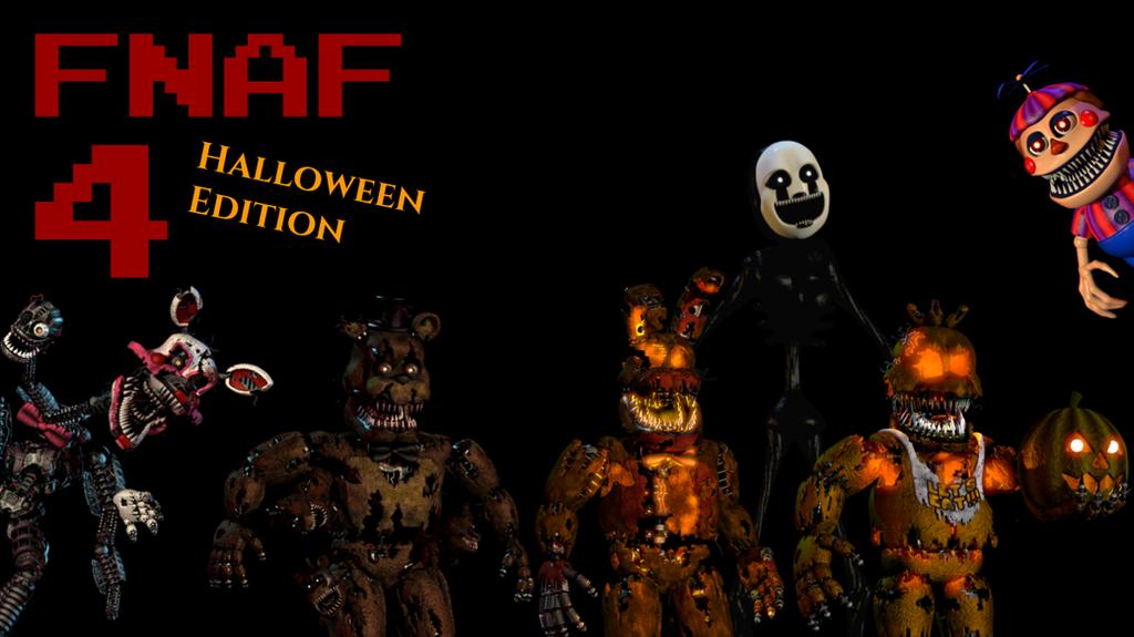 FNaF 4 Halloween Edition wallpaper by TommySturgis on DeviantArt