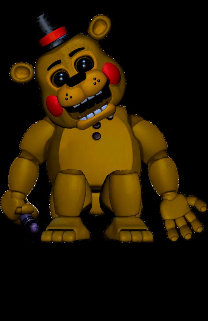 Gold Freddy Toys : Toy golden freddy by tommysturgis on deviantart