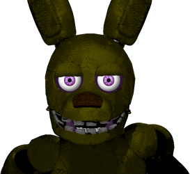 Spring Bonnie Jumpscare by TommySturgis