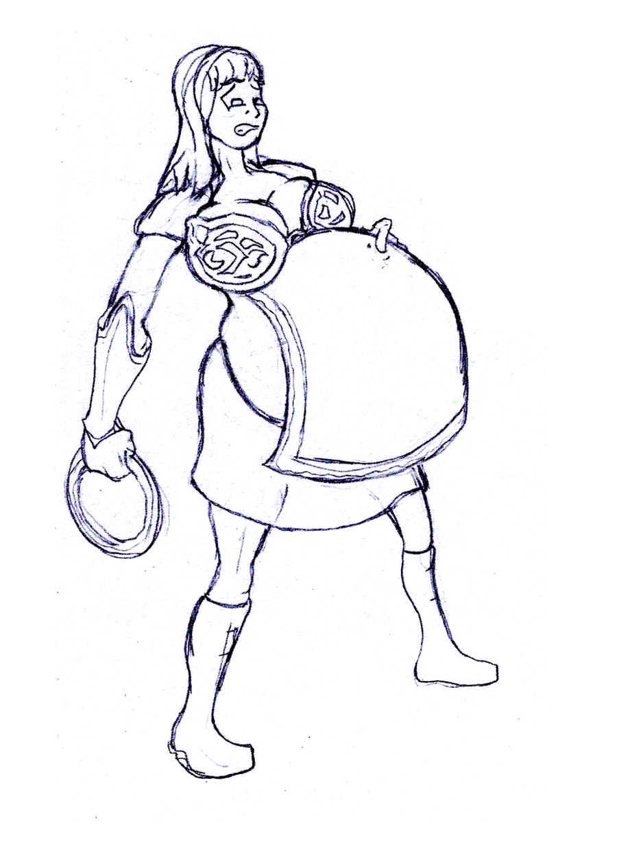 Xena The Pregnant Princess By Clare Mighty