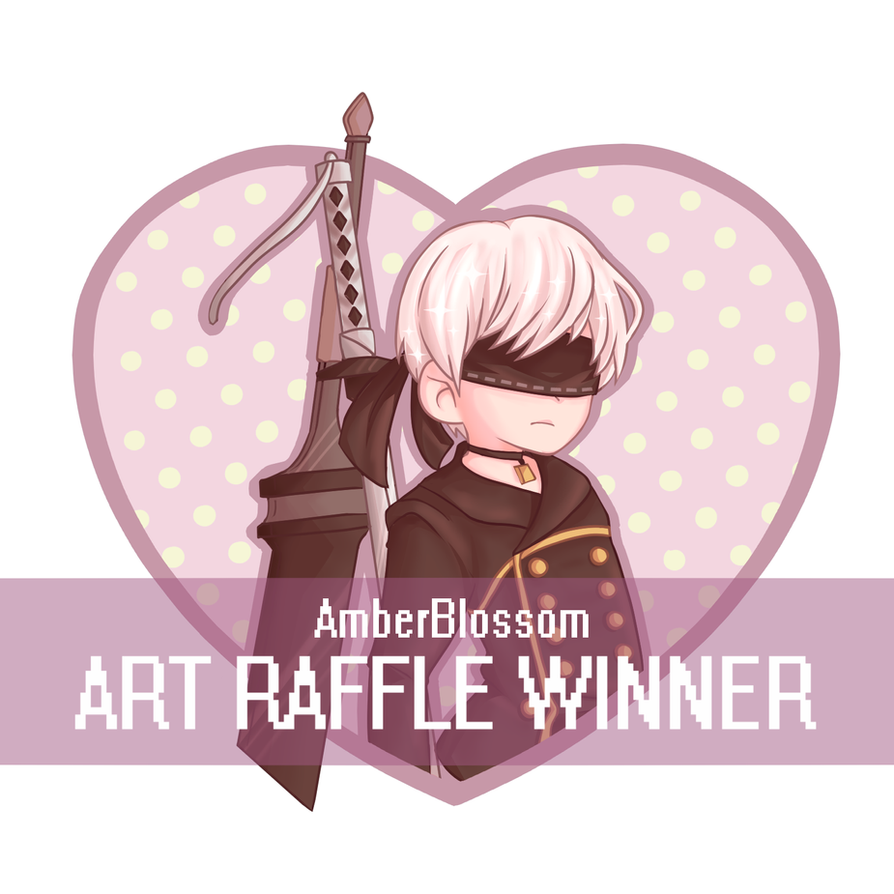 Art Raffle 2nd Place! by Amberblosssom