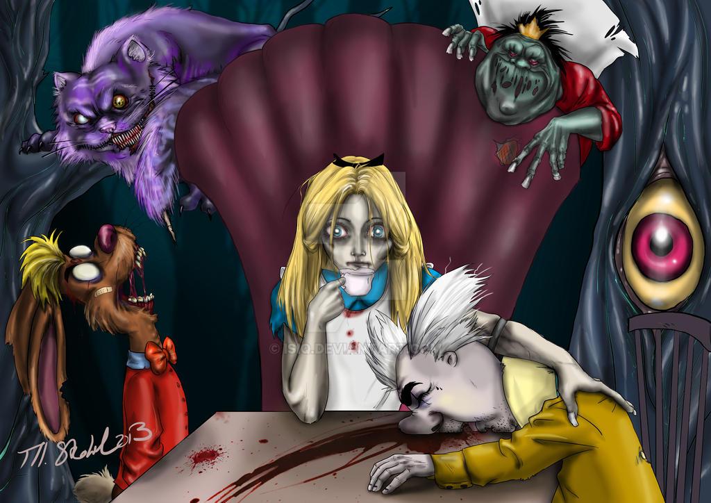 Alice In Wonderland Twisted By Isiq On Deviantart