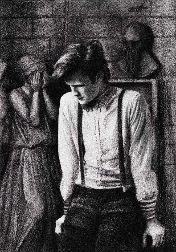 Eleventh Doctor by phantosmagoria