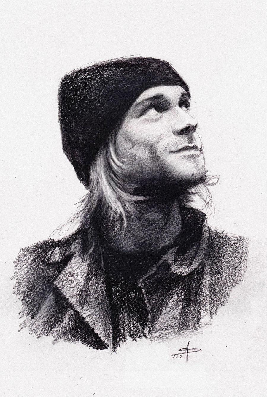 Kurt Cobain by phantosmagoria