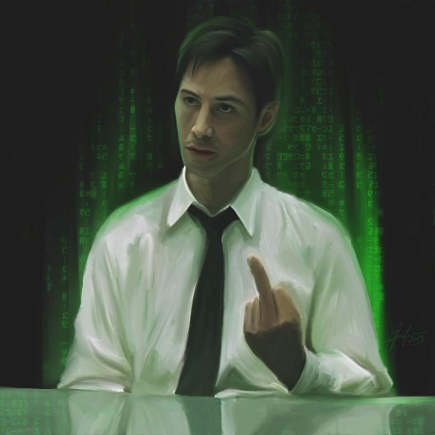 Neo ( The Matrix) By Phantosmagoria On DeviantART