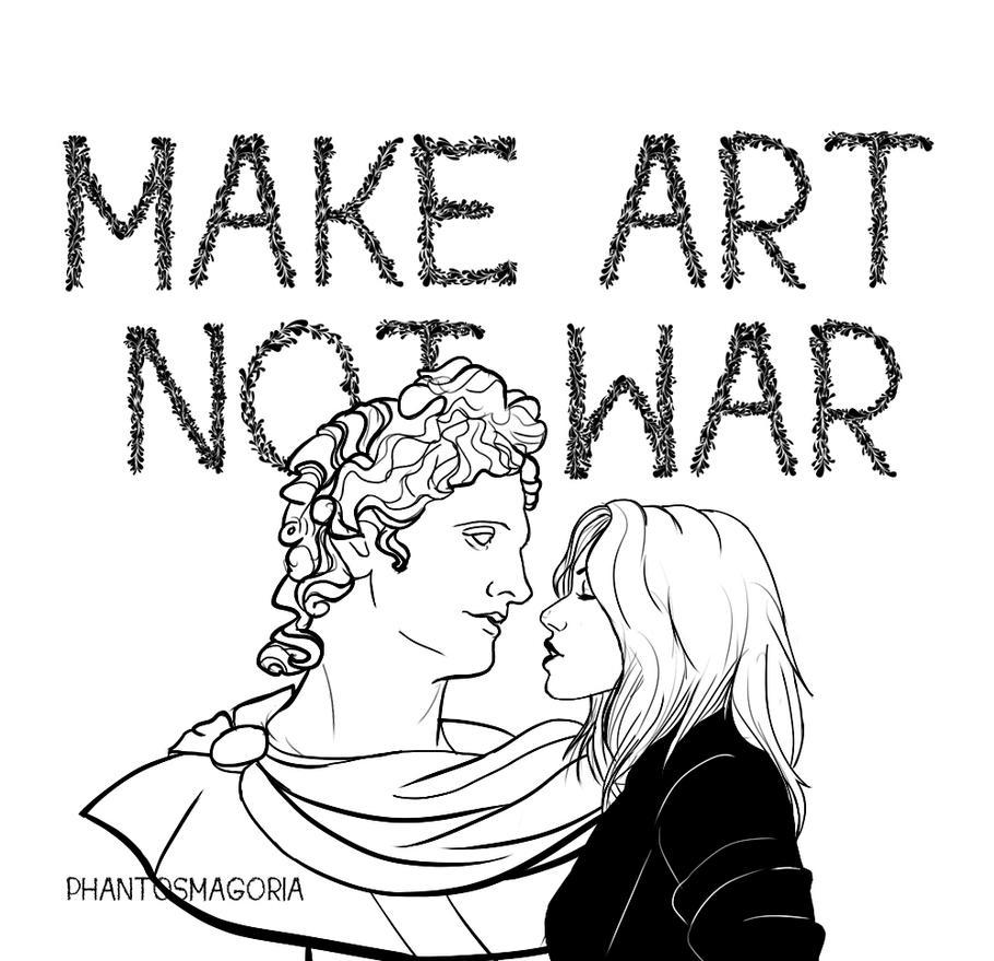Make Art by phantosmagoria