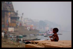 Varanaci street kid by davidluz2000