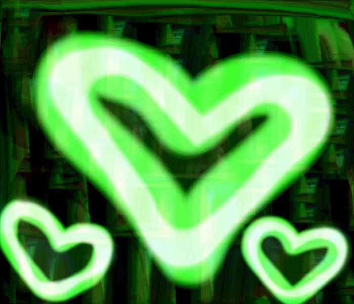 BG-Green Neon Hearts by Brashgirl901 on DeviantArt