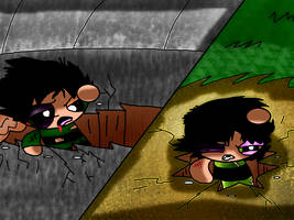 Butch vs Buttercup- Too evenly matched 1 on 1... by MissEmmyJay
