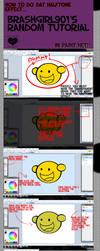 RandomTutorial- Halftone Effect in Paint.net by MissEmmyJay