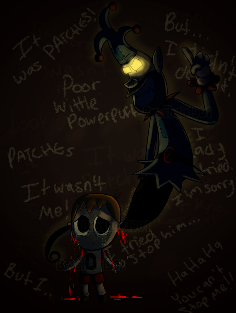 Mike and Patches- I'm Sorry.. by Brashgirl901