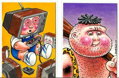 Geeky Gary/Hairy Gary by GPKDave