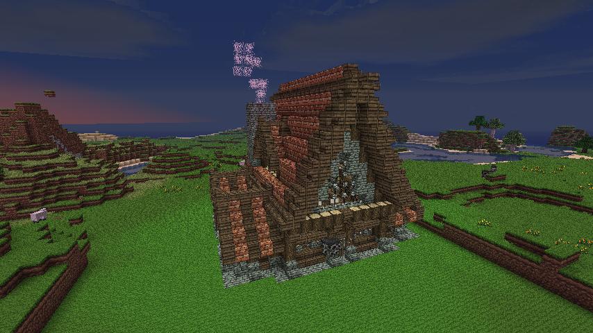 Minecraft Hausbau Ideen Die Besten Ideen Zu Minecraft Huser Auf - Minecraft mittelalter haus klein