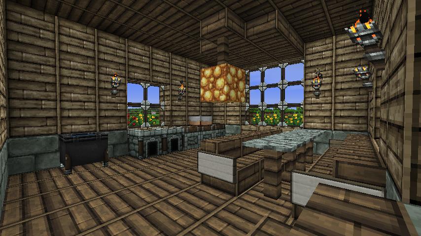 Beautiful minecraft k che bauen contemporary home design - Minecraft inneneinrichtung ...
