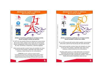 JOTA - JOTI 2007 Card