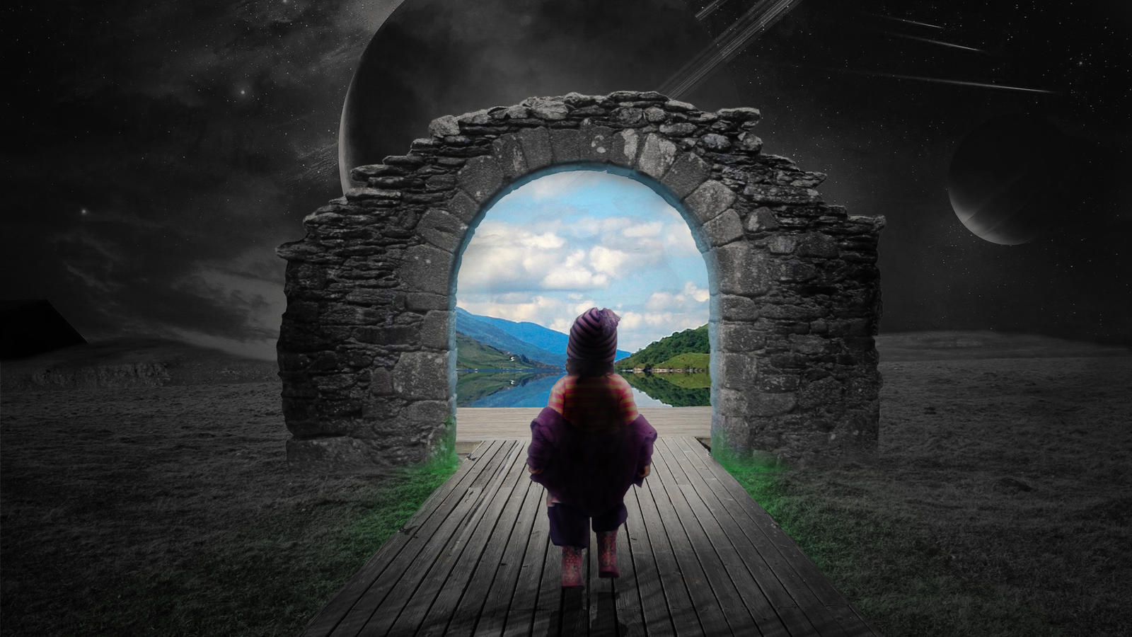 Archway to a better life