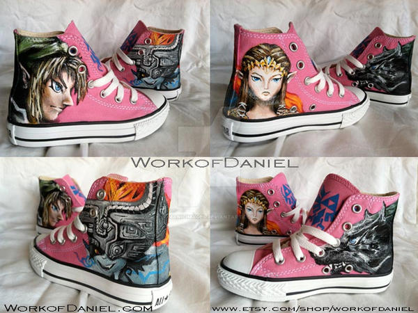 Zelda Twilight Princess fan shoes by manicimages