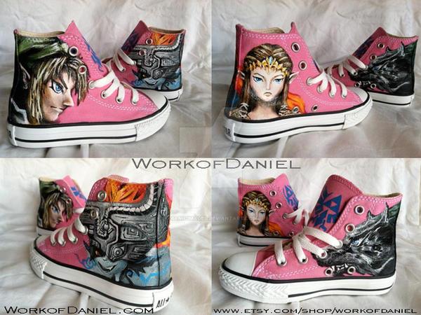 Zelda Twilight Princess fan shoes by manicimages