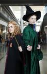 Hermione and Professor McGonagall