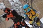 Rebel Mandalorian Assault by Keldabe92
