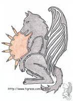 Sun Wolf by arikla