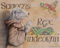 St. Christopher - Book of Kells by arikla