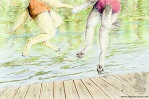 Dock Dogs by arikla