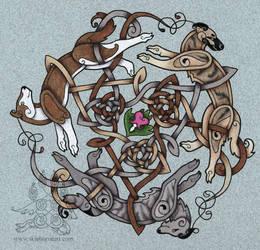 Dogwheel - pet portrait