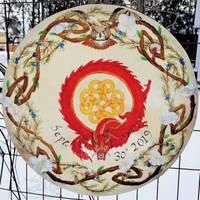 Dragon Bodhran Drum