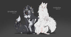 Werefoxes Designs Auction [SOLD] by Blacknemera