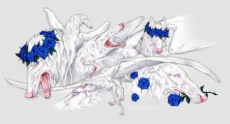 White Sketchpage by Blacknemera