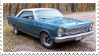 Ford Galaxie Stamp by Tigerstar52
