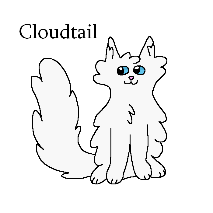 #45 - Cloudtail by Tigerstar52