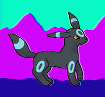 Shiny Umbreon by Tigerstar52