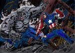 Captain America vs Hulk