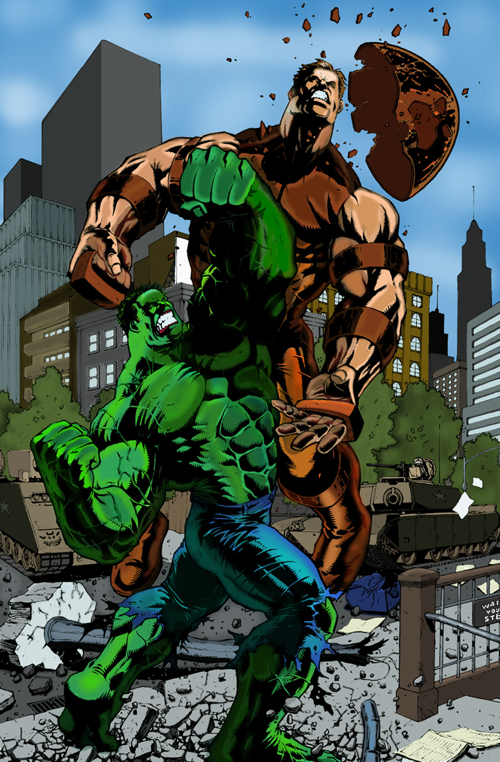 Let's be honest Hulk can't beat Juggernaut - Page 3 — The ...
