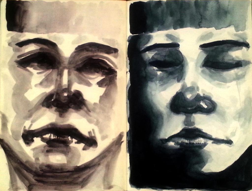 Payne's Gray and Neutral Tint by Matoki